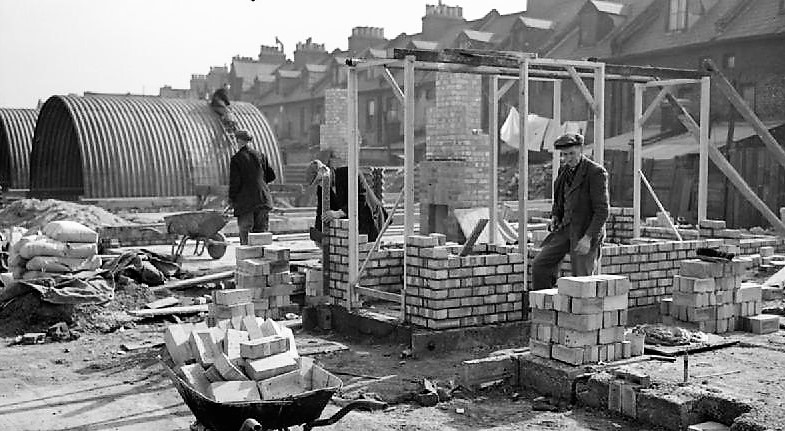 1950s Housing Construction